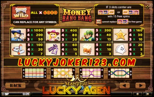 Agen Judi Money Bang Bang Slot Online Joker123