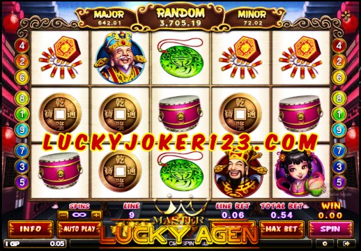 Agen Judi Slot Lucky God Joker123