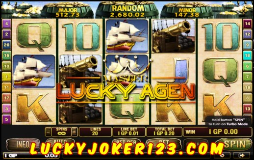 Judi Slot Captain Treasure Pro Joker123